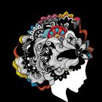 logo du salon représentant une femme